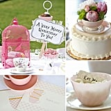 An Alice in Wonderland-Inspired Birthday Tea Party