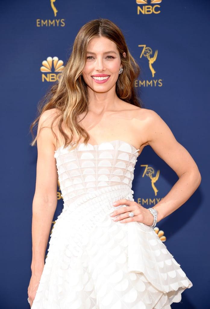 Jessica Biel's Dress at the 2018 Emmys