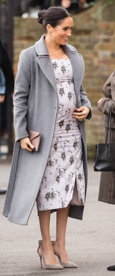 Meghan Markle's Gray Coat 2018