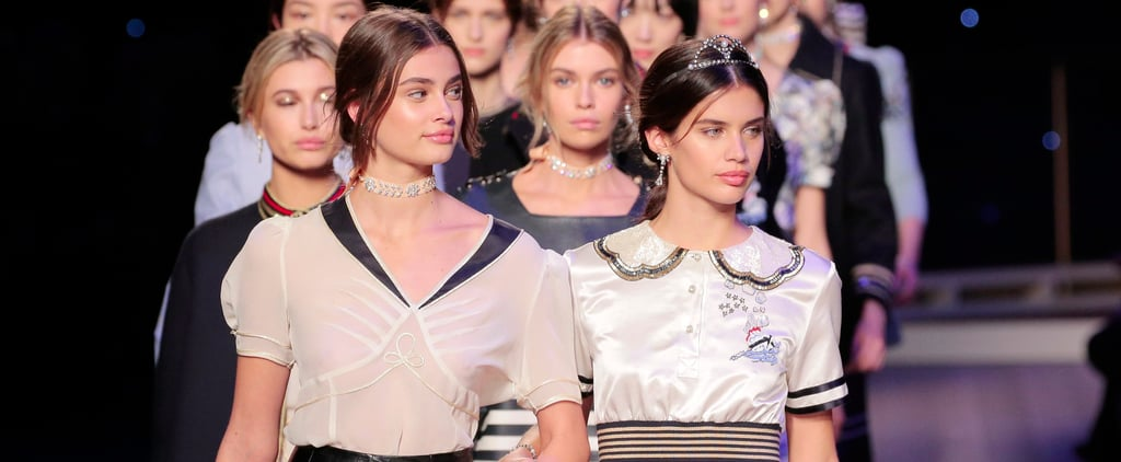Hailey Baldwin and Taylor Hill For L'Oreal Professionnel