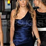 Chelsy Davy heads to the Boodles Boxing Ball.