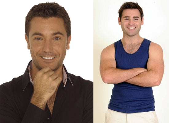 Photos of Gino D'Acampo and Stuart Manning Who Have Been Charged With Animal Cruelty After Cooking A Rat on I'm A Celebrity