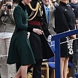The Duchess of Cambridge and Prince William Stepped Out to Celebrate St. Patrick's Day