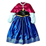 Disney Frozen Anna Costume Dress With Cape