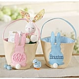 Personalized Bunny Tail Easter Basket