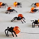 Halloween Spiders LED Glimmer Strings