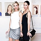 Jenna Courtin-Clarins and Prisca Courtin-Clarins feted the opening reception for Faces of Change with Feed and Clarins.