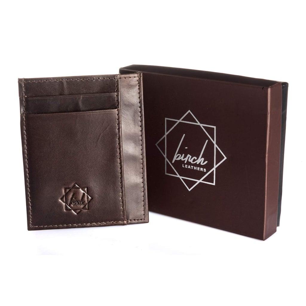 Front Pocket Slim Wallets Genuine Leather Handmade Minimalist Credit Card Holder