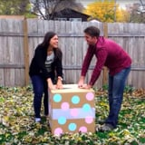 Gender Reveal Party Fail When Box Has Rainbow Balloons