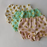 Polka Dot Diaper Covers