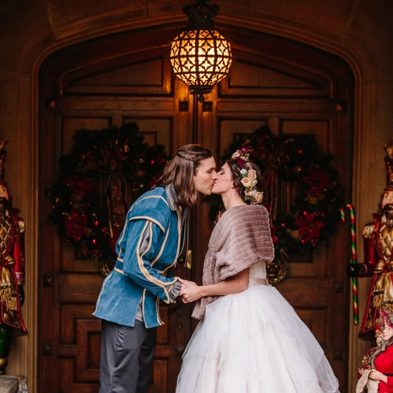 Game-of-Thrones-Themed Christmas Wedding