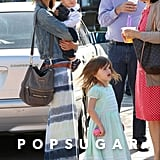 Alessandra Ambrosio had a family outing with her kids, Anja and Noah Mazur, in LA.