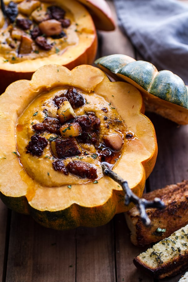 Chipotle Pumpkin Soup With Crispy Chorizo | The 10 Most ...