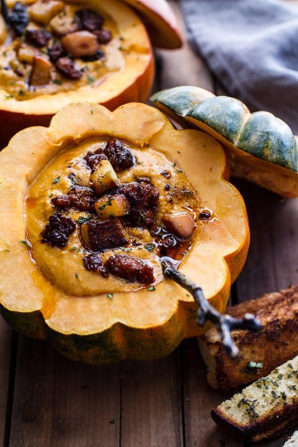 Chipotle Pumpkin Soup With Crispy Chorizo | The 10 Most Pumpkin-y ...