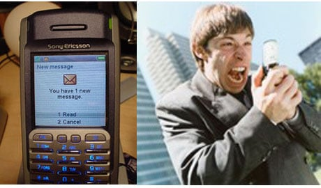 Funny or Stupid? Text Message Break-Ups