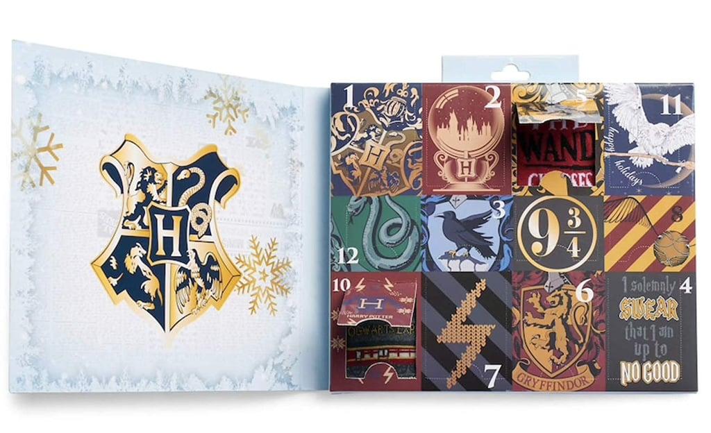 Harry Potter Sock Advent Calendar on Amazon