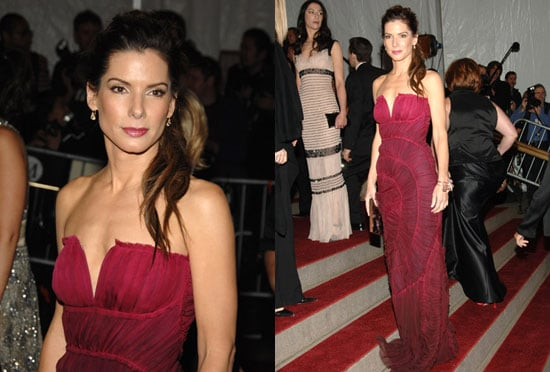The Met's Costume Institute Gala: Sandra Bullock