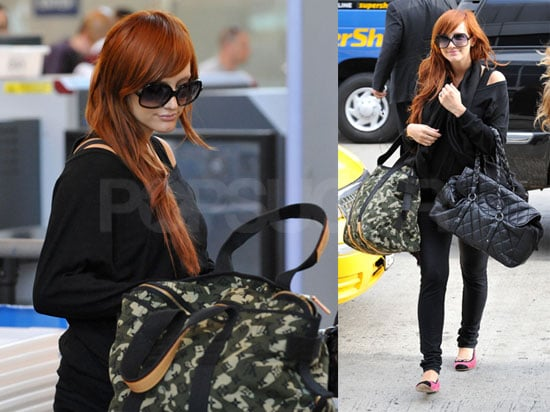 Photos of Ashlee Simpson at LAX