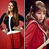 Rachel From Glee as Fanny Brice