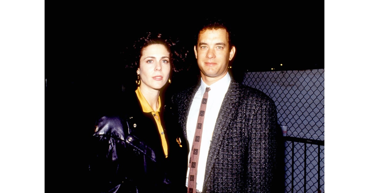 Tom Hanks And Rita Wilson 1980 Celebrities First Red