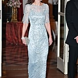 Kate in Jenny Packham, March 2017