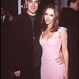 Jennifer Love Hewitt and Carson Daly