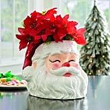 Santa Head Planter
