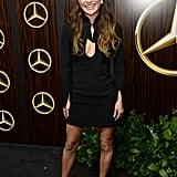 Jessica Szohr at the 2019 Mercedes-Benz USA Oscars Party