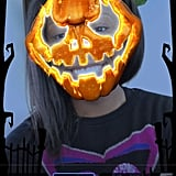 The limited edition pumpkin mask.