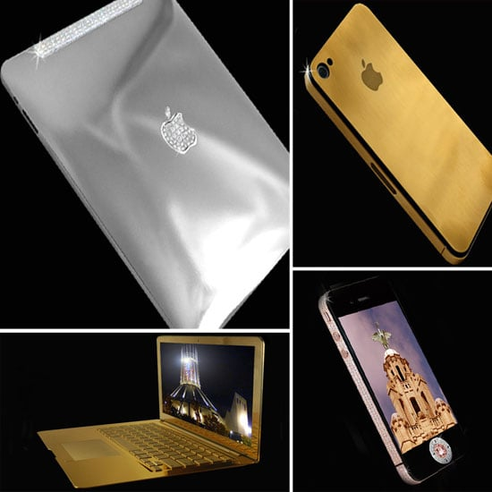Gold, Diamond, and Platinum iPhones, iPads, and Laptops
