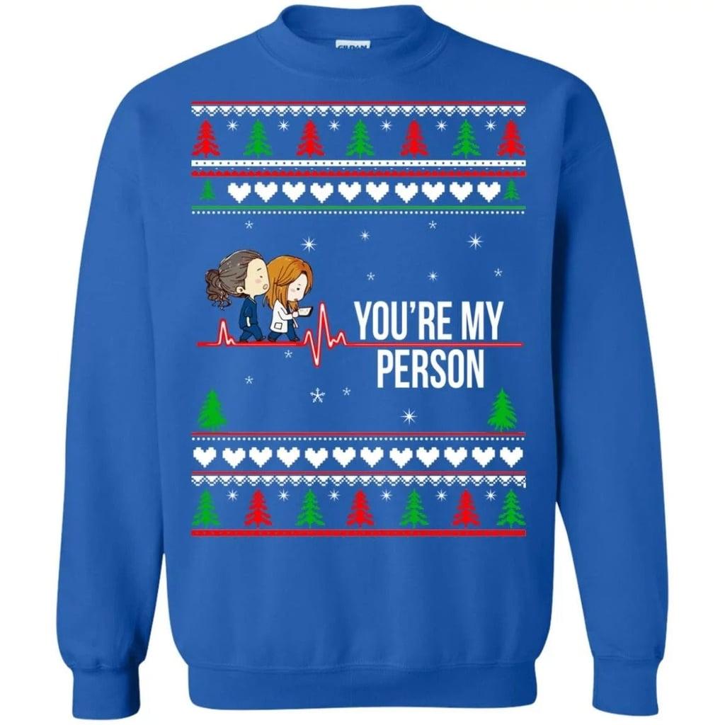 Grey's Anatomy Christmas Sweaters