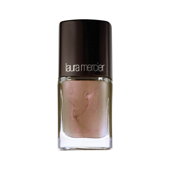Laura Mercier has released two limited-edition polishes for Winter. Our favorite is Butterfly Wings ($18), which is a sandy brown with iridescent purple mixed in. It's like a mood ring for grown-ups.