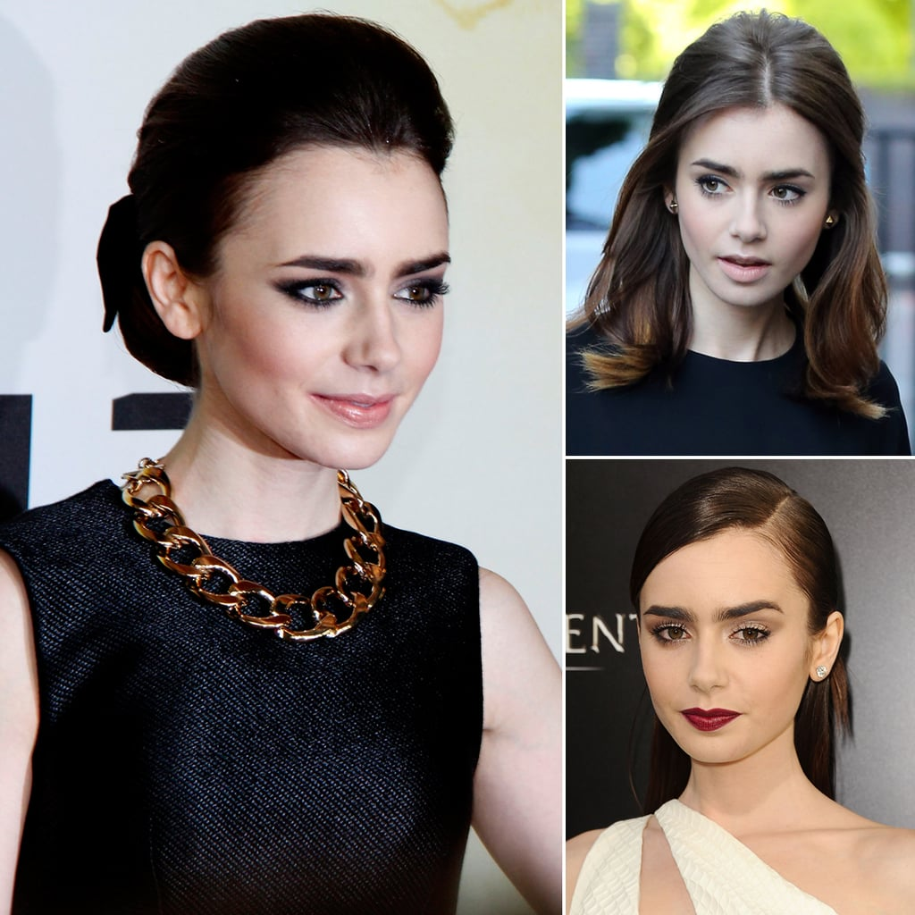 Lily Collins Hair | Mortal Instruments City of Bones Tour
