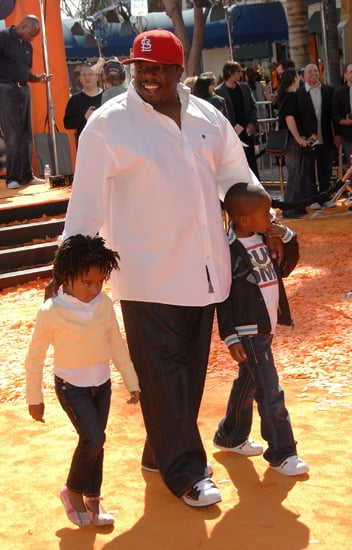 Cedric the Entertainer didn't want his tots to miss out on the orange action of <b>Dr. Seuss Horton Hears a Who</b>.
