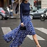 If You're Slim: Wear Asymmetrical Skirts