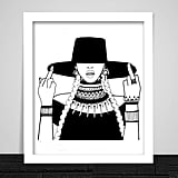 """GRVBLORD """"Formation"""" Art Print"""
