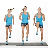 Tabata One: Lateral High-Knee Run and Hold