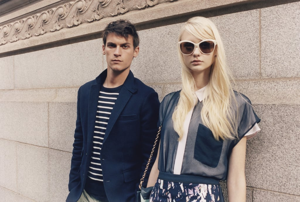 Club Monaco Spring Lookbook One