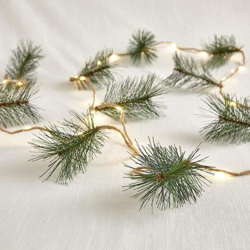 Pine Needle Tassel 10' LED Glimmer Strings®