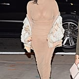 """The """"Off-the-Shoulder Slouch"""" on Kim Kardashian"""