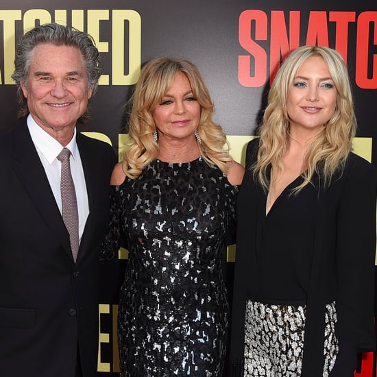 Goldie Hawn and Her Family at Snatched LA Premiere 2017