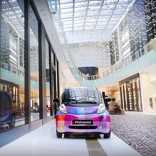 Electric Cars For Hire to Get Around The Dubai Mall