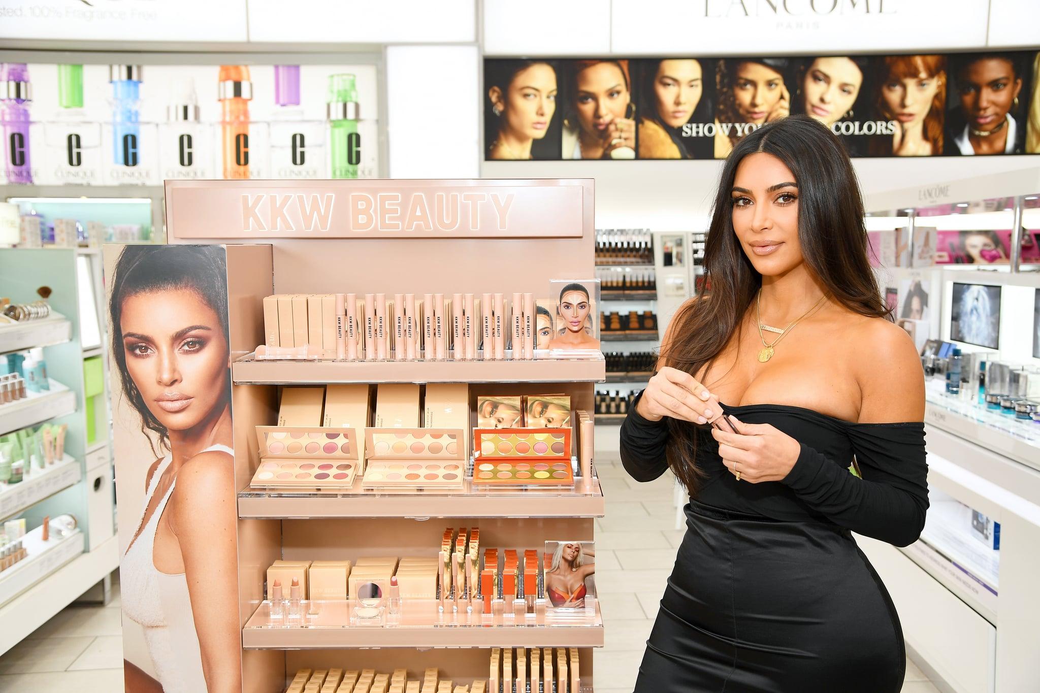 NEW YORK, NEW YORK - OCTOBER 24: Kim Kardashian attends KKW Beauty launch at ULTA Beauty on October 24, 2019 in New York City. (Photo by Dimitrios Kambouris/Getty Images for ULTA Beauty / KKW Beauty)