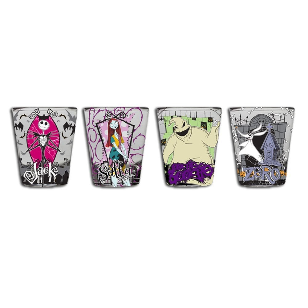 Nightmare Before Christmas Mini Glass Set ($14) | Pop Culture Gifts ...