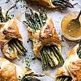 Asparagus and Brie Puff Pastry With Thyme Honey