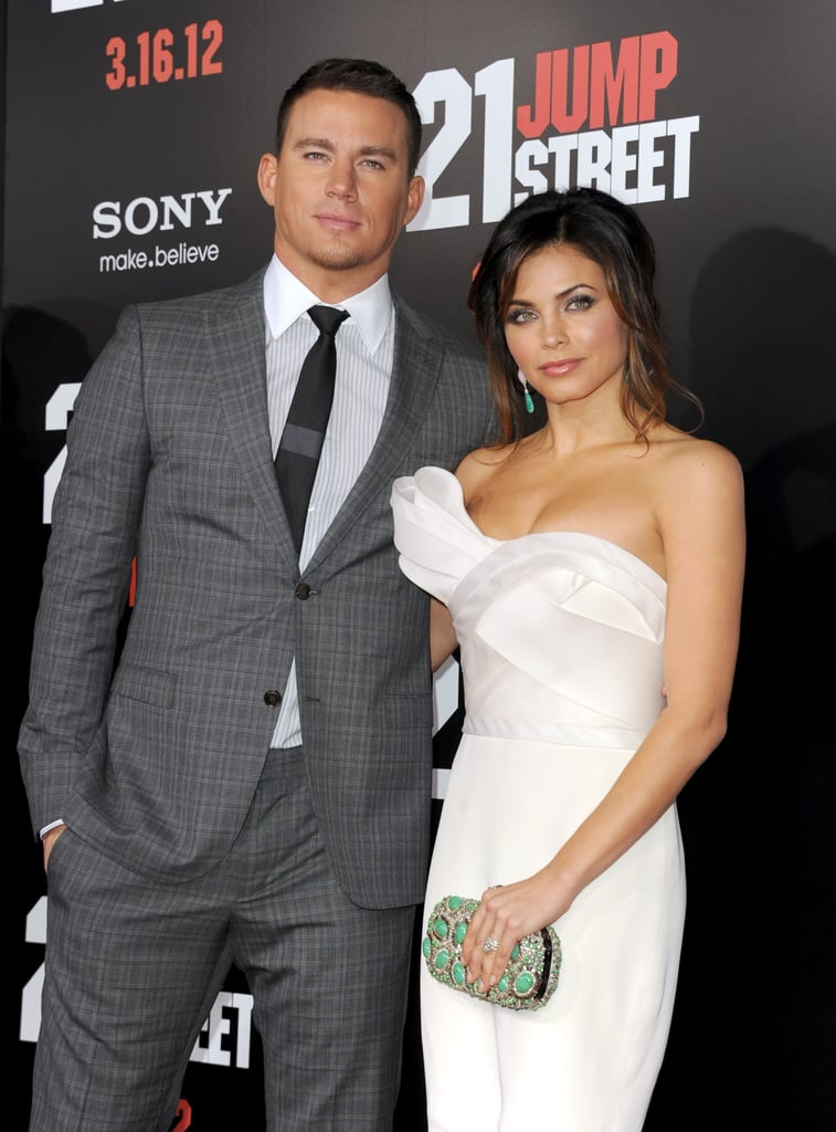 Channing Tatum had his wife Jenna Dewan by his side.