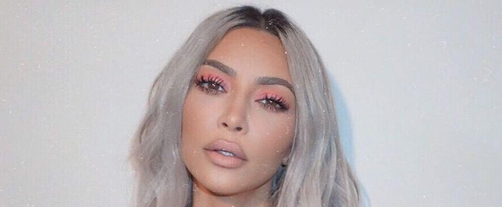 Kim Kardashian Going Platinum Blond After Social Distancing