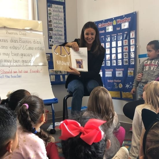 Jennifer Garner Reads Pete the Cat Shoes Book