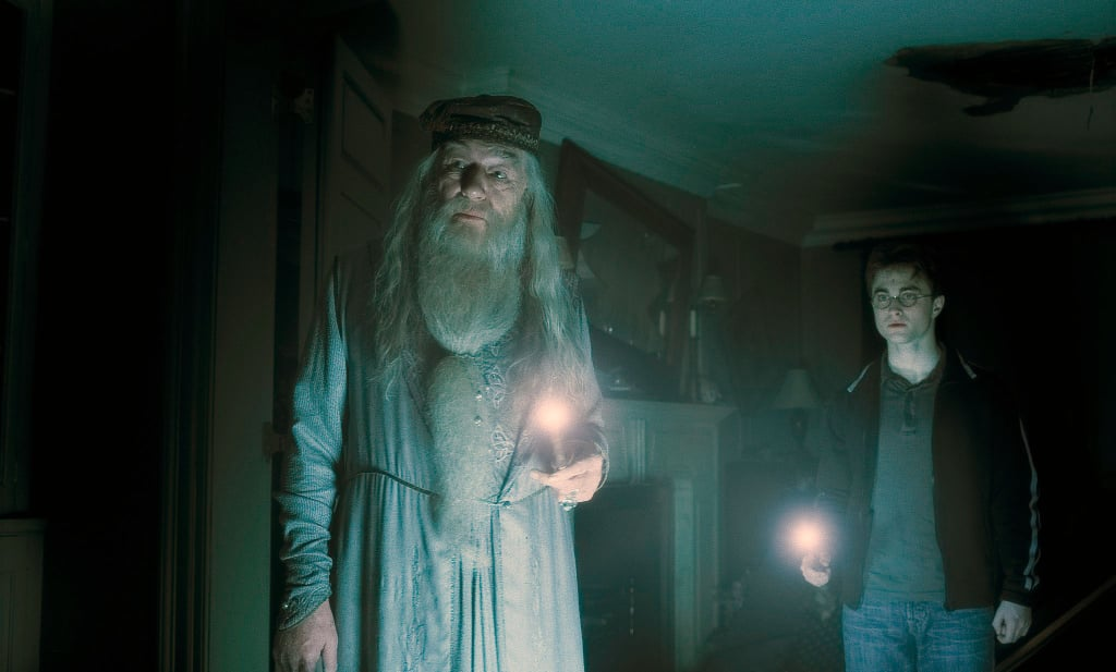 """To the well organized mind, death is but the next great adventure."" — Dumbledore"