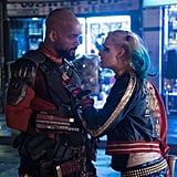 Things get heated between Deadshot and Harley Quinn.